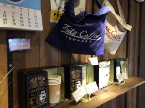 コーヒー豆のお土産も!アイスコーヒーもうまし、Fritz Coffee Company