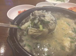 支庁・光化門エリアの牡蠣クッパ、モリョ