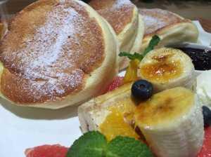 innisfree、イニスフリーカフェのパンケーキ