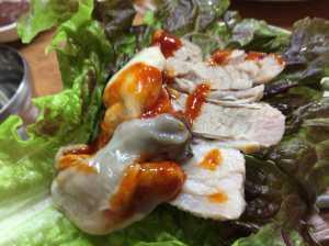 牡蠣ポッサムならサメチッ(삼해집)