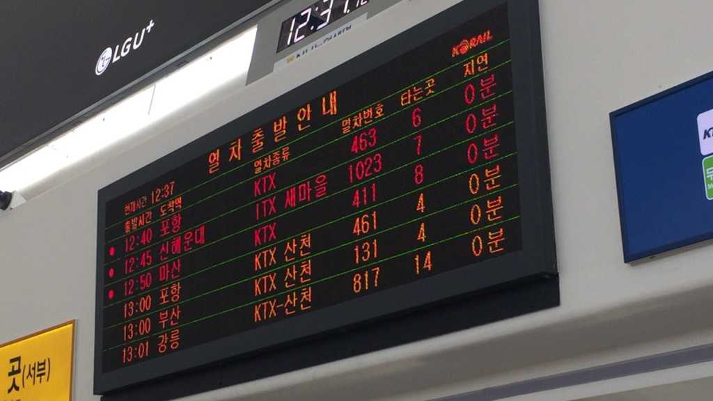 韓国プサン、釜山旅行KTX