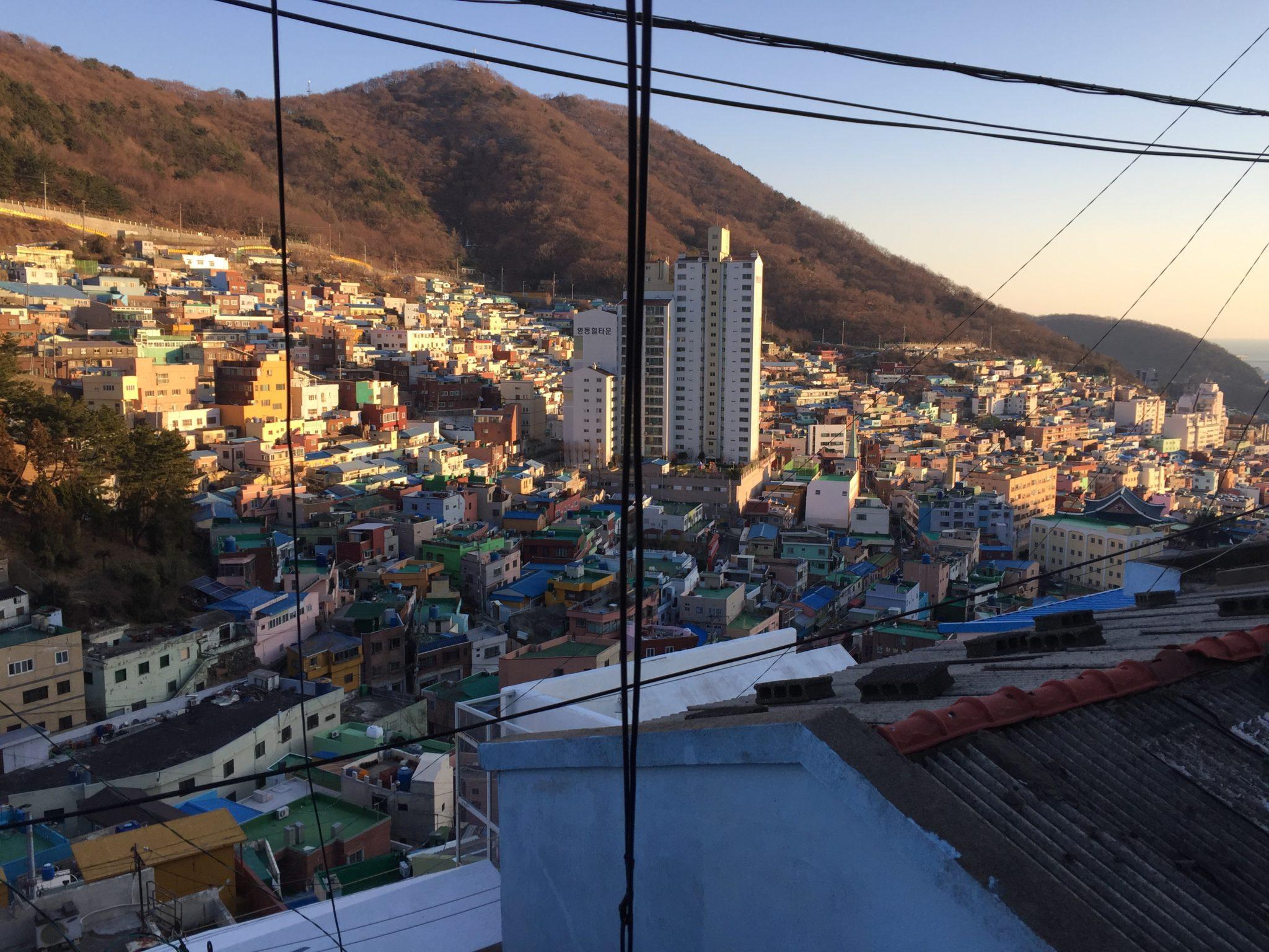 釜山甘川文化村(韓国プサンのマチュピチュ)